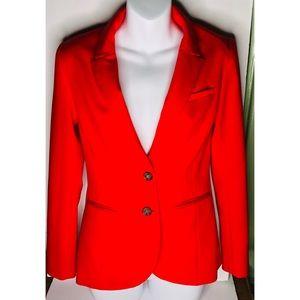 H&M NWOT Cherry Red Blazer Size 6